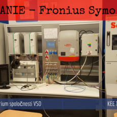 Testovanie – Fronius Symo Hybrid
